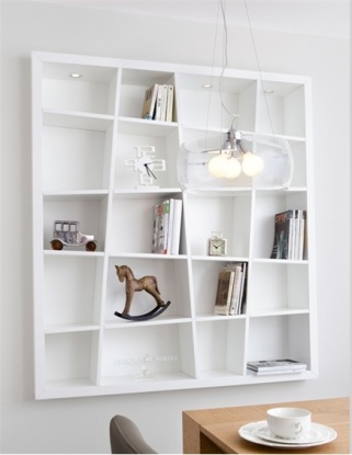 8. Can we make this bookshelf? via Ikea Hackers