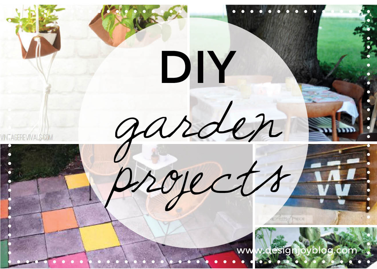 8 DIY projects for your garden Design Joy