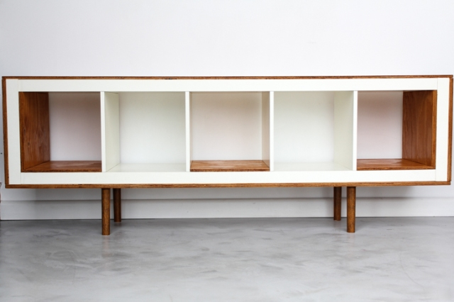 1. Absolutely gorgeous mid-century modern sideboard via Ikea Hackers