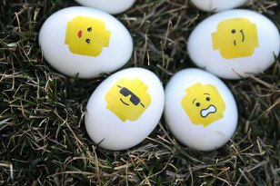 DIY Easter projects Lego Easter Eggs