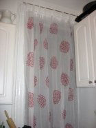 DIY stencil projects curtains