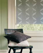DIY stencil projects roller shade