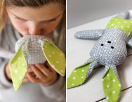 DIY Easter Projects // Stuffed Bunny