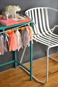 DesignJoyBlog DIY Ikea VITTSJÖ Hacks Enamel Chalk Paint