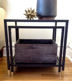 DesignJoyBlog DIY Ikea VITTSJÖ Hacks Nesting Table