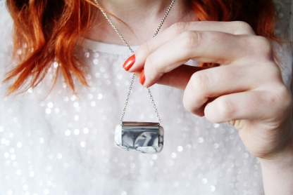 8 DIY projects for mother's day // Stone and Silver Necklace