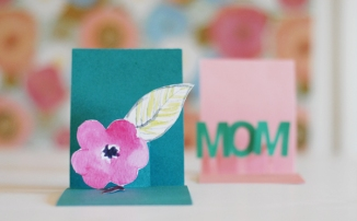 8 DIY projects for mother's day // Pop-up Card