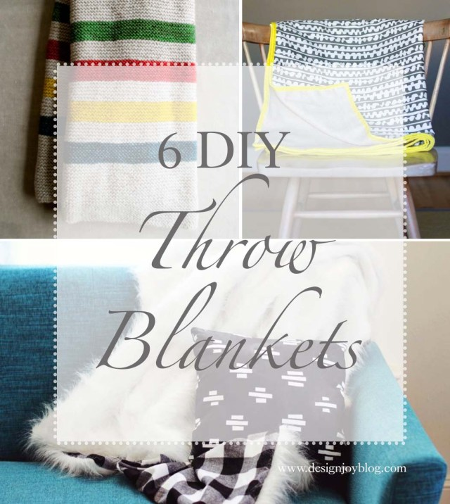 DesignJoyBlog_6 DIY Throw Blankets