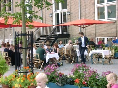 DesignJoyBlog // Lloyd Hotel Amsterdam Terrace