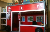 DesignJoyBlog // Ikea KURA Fire Truck