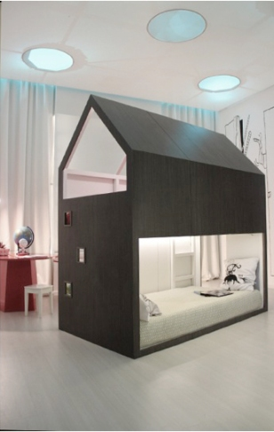 DesignJoyBlog // Ikea KURA Little Forest House