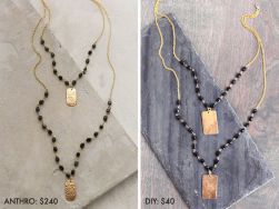 DesignJoyBlog_6 DIY Gifts for your Mum_Beaded Pandant Necklace
