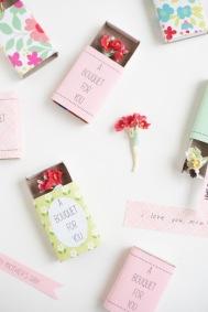 DesignJoyBlog_6 DIY Gifts for your Mum_matchbox Bouquet